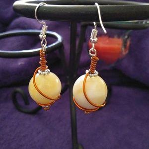 Beautiful wire earrings